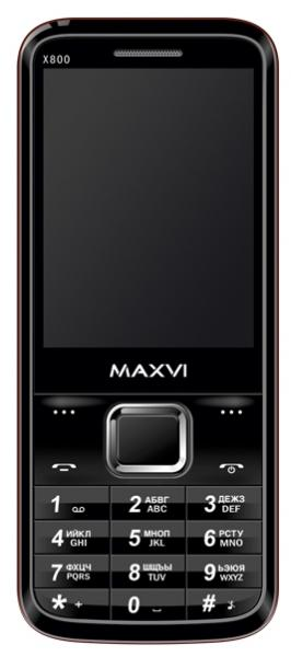 Maxvi X800 black-red